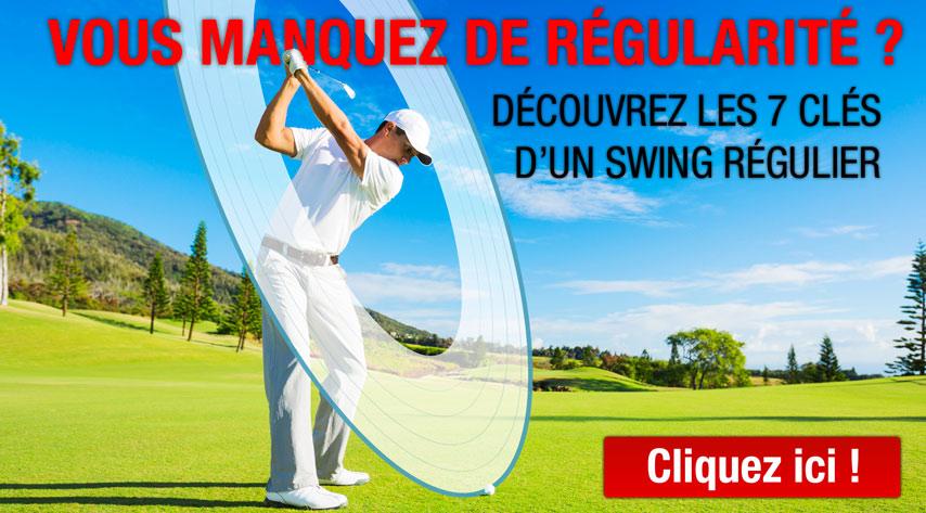 7 clés regularité golf